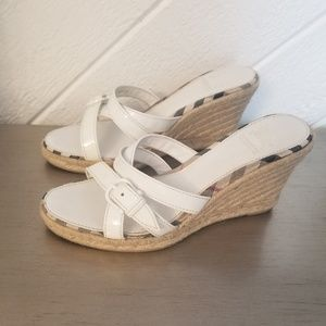 FINAL DROP: Burberry Espadrilles Wedges